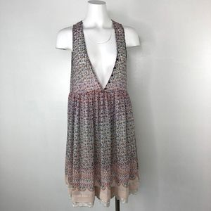 Maeve   Anthro Floral Lace Layer Dress Tunic